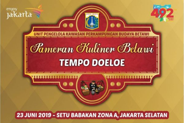 setu babakan betawi event OLD AND RARE BETAWI'S CULINARY EXHIBITION